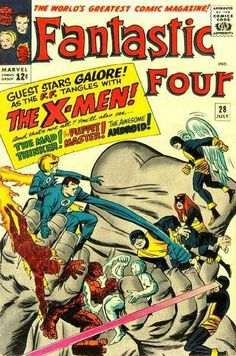 Fantastic Four #28 - We Have To Fight The X-Men!