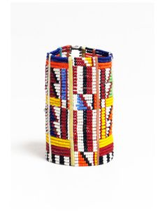 African Masai beaded bracelet  Beaded tribal by pikaycreations