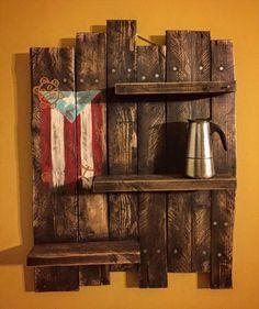 Pallet Display #Shelf - 150+ Wonderful Pallet Furniture Ideas | 101 Pallet Ideas - Part 16: