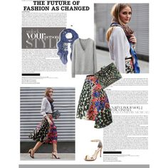 """Milan Fashion Week - Olivia Palermo"" by sarapires on Polyvore"