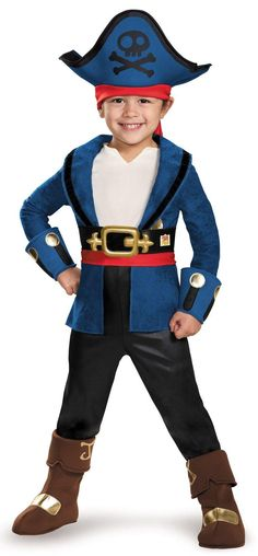 Cool Costumes Captain Jake and Neverland Pirates: Captain Jake Deluxe Child Costume just added...
