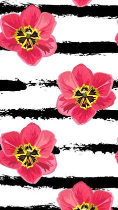New Flowers Wallpaper Iphone Backgrounds Design Ideas Flor Iphone Wallpaper, Computer Screen Wallpaper, Mobile Wallpaper, Wallpaper Backgrounds, Tumblr Wallpaper, Iphone Backgrounds, Colorful Wallpaper, Flower Wallpaper, Pattern Wallpaper