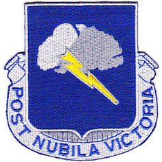 82nd Chemical Battalion Patch  United States ARMY 82nd Chemical Battalion Military Patch POST NUBILA VICTORIA