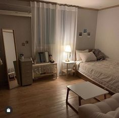 Room Design Bedroom, Room Ideas Bedroom, Home Room Design, Small Room Bedroom, Home Bedroom, Bedroom Decor, Bedrooms, Minimalist Room, Cozy Room