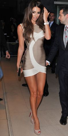 Georgia Salpa - Fashion( How I want my stomach in a dress so you could see through my six pack through that gorg dress.