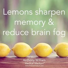 Lemons sharpen memory & reduce brain fog🌟Learn more about the healing powers of lemons in my book Thyroid Healing, link in bio👆🏻 Natural Cures, Natural Healing, Health And Wellness, Health Tips, Anthony William, Tomato Nutrition, Brain Fog, Brain Health, Natural Medicine
