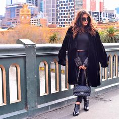 Andriana Chidiac wearing our 'Paloma' Boots in Melbourne 2015
