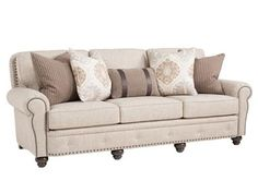 Shop for Smith Brothers Large Sofa, 237-13, and other Living Room Sofas at Habegger Furniture Inc in Berne, IN   Fort Wayne, IN. Also avilable in leather.