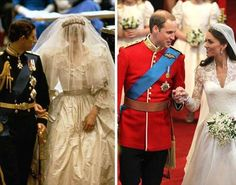 Royal weddings...past and present <3