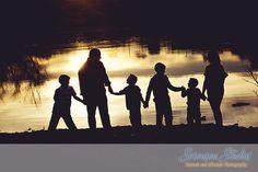 Silhouette _ Family _ Photography _ Sorensen Studios