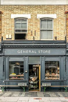 Great Facade of the General Store in London's Peckham