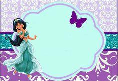 Fiestas Personalizadas Imprimibles: 10 Hermosos fondos para tarjetas de Invitación Princesa Jazmin -Gratis Disney Princess Names, Princess Crafts, Disney Princess Party, Disney Jasmine, Aladdin And Jasmine, Jasmin Party, Princess Jasmine Party, Indian Birthday Parties, Frozen Birthday Party