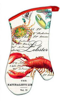 Lobster Oven Mitts – Loves Creation