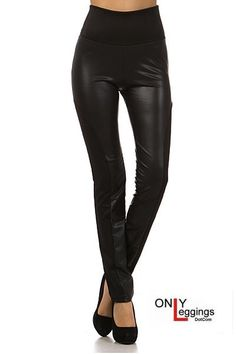 Only Leggings - High Waisted Racer Faux Leather Leggings, $35.00 (http://www.onlyleggings.com/high-waisted-racer-faux-leather-leggings/)