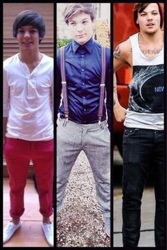 Louis has changed so much