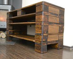 Kommode Wohnzimmerschrank Fernsehschrank TV Board Aus Europaletten | eBay