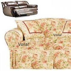 120 Best Slipcover 4 Recliner Couch Images On Pinterest
