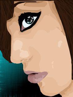 11  illustrator self portrait