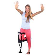 iWALK 2.0 Hands Free Crutch - Black, Clear