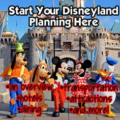 A First Timer's Guide to Disneyland