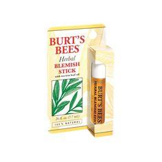Burt's Bees, Herbal Blemish Stick - used as needed #BurtsBees
