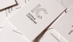 Thirty Dirty Fingers - Itany & Courtois Business Card