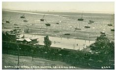 Bathing Pool, Leigh-on-Sea. Leigh On Sea, London Places, Old Photos, Paris Skyline, Bathing, Travel, Antique Photos, Bath, Trips