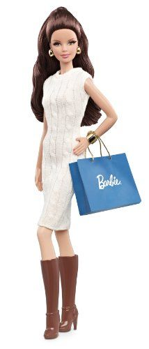 Mattel Barbie Collector The Barbie Look Collection City Shopper Doll with White Dress Mattel http://www.amazon.com/dp/B00CHOPEMG/ref=cm_sw_r_pi_dp_p9cZtb0H0YVAPFYX