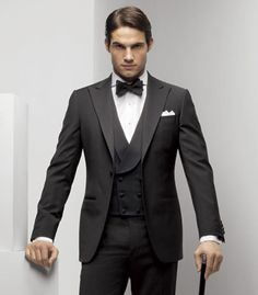 Okay...get rid of the creepy look and the cane...but I think the style is rather dashing.  ; )