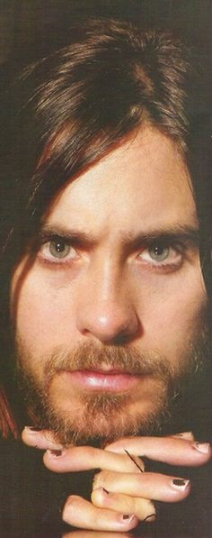 Jared Leto He looks pissed. His eyes are green. Jared Leto, Thirty Seconds, 30 Seconds, Mars Attacks, Fountain Of Youth, Criminal Minds, Keanu Reeves, Most Beautiful Man, Man Alive