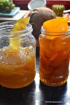 coji de portocala si lamaie confiate (20) Mint Jelly, Apple Mint, Romanian Food, Romanian Recipes, Pickling Cucumbers, Pastry Cake, Sweet Bread, I Foods, Pickles