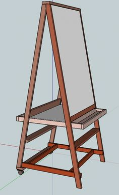 Teaching Easel - plans and measures