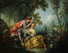 Four seasons. Spring (1755)  - Fragonard