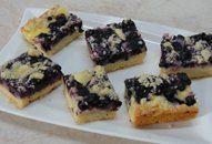 Borůvkový koláč pudinkem a žmolenkou Food And Drink, Cupcake, Cupcakes, Cupcake Cakes, Cup Cakes, Muffin