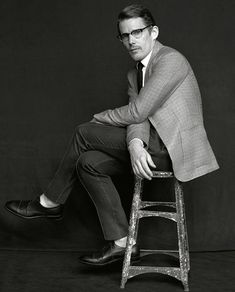 Ethan Hawke by Mark Seliger
