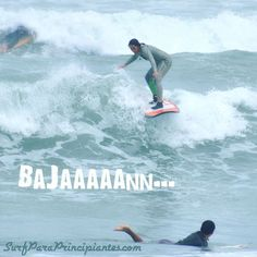 No le tengas miedo al drop solo es mantener la postura en la tabla y seguir!  #surf #surflessons #learntosurf #surfergirl #surfwithfriends #EndlessSummer #beachlife #lavidaesunaola #Makaha #Miraflores #Lima #Peru #happiness #surfisfun - http://ift.tt/1K8gmug