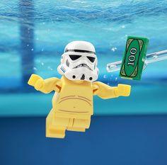 Lego Stormtrooper, Starwars Lego, Legos, Super Troopers, Lego People, Lego Military, Lego Figures, Storm Troopers, Lego Photography