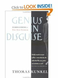 Genius in Disguise: Harold Ross of the New Yorker by Thomas Kunkel. A social history of the times, and marvellous stuff about Harold Ross, the founder of the New Yorker magazine - his attention to detail, ideas on style, and his professional approach. Excellent if you are interested in writing - Judith