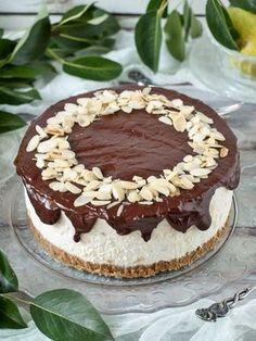 Körtés túrótorta sütés nélkül recept Hungarian Recipes, Sweets Cake, Cakes And More, Tiramisu, Sugar Free, Cheesecake, Food Porn, Cookies, Baking