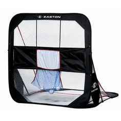 """The Easton 5' Pop Up Multi Net folds down to fit in a 29"""" circular carrying bag."""