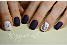 From general topics to more of what you would expect to find here, nail-art-stickers. Chic Nail Art, Easy Nail Art, Acrylic Nail Designs, Nail Art Designs, Diy Nails, Cute Nails, Coffin Nails Ombre, Nail Decorations, Fabulous Nails