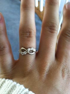 Infinity promise ring--a promise to stick together through anything