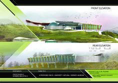 Architectural Thesis, Natural Science Museum, Australia Landscape, Eyes Watering, Landscape Lighting Design, Sloped Backyard, Architecture Student, Front Elevation, Science And Nature