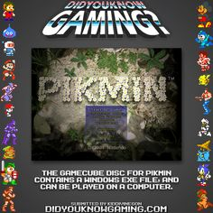 Did You Know Gaming? Pikmin is one of my favorite games EVAR :D