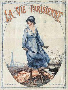 La Vie Parisienne | Mad Men Art | Vintage Ad Art Collection - Part 30