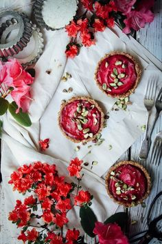 ORANGE-BEETROOT TART