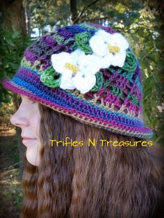 Trifles N Treasures: Unforgettable Panama Hat in toddler/child and teen/adult sizes by Tera Kulling.