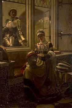 A Love Token, 1881 - Edmund Blair Leighton