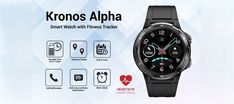 Portronics Kronos Alpha smartwatch comes with 1.3-inch HD color display. Tab to read more. Smart Fitness Tracker, Gadget News, Display Resolution, Sweat Proof, Heart Rate Monitor, Smartwatch, Color, Smart Watch, Colour