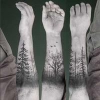 40 hermoso tatuajes de árboles…